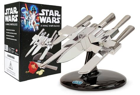 star wars  wing knife block  green head