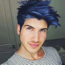 photo proof that joey graceffa s blue hair is his best