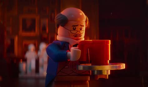 Lego Alfred The Buttler lego batman trailer brings us to lonely wayne