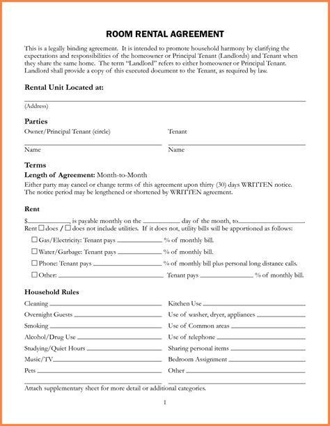 template for a lease agreement 5 sle lease agreement for renting a house purchase