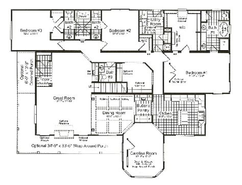 huntington floor plan huntington modular home plan