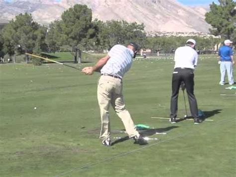 jonathan byrd swing jonathan byrd driver swing rear view shriners 2014 youtube