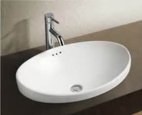 Designer Bathroom Sinks Breno Designer Ceramic Basin Above Counter Basins