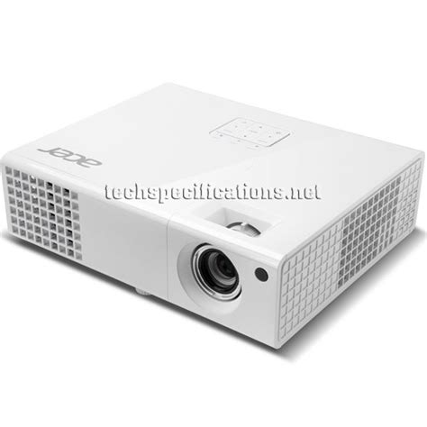 Projector Acer H6510bd technical specifications of acer h6510bd hd projector