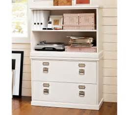 Bedford Lateral File Cabinet Bedford Lateral File Cabinet Antique White Pottery Barn