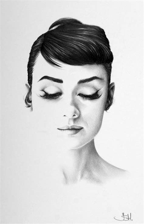 Best Home Decorating Blogs by New Exquisite Minimalist Pencil Portraits By Ileana Hunter