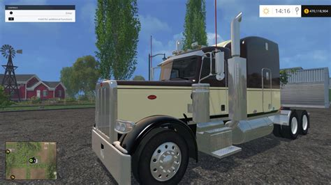 Truck Ls by Peterbilt 388 Truck Fixed Ls 15 Farming Simulator 2015