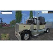 Peterbilt 388 Truck Fixed  Farming Simulator 2017 Mods