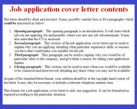 application letter exle application cover