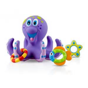 Bathtub Toys For Babies Octopus Floating Bath Toy