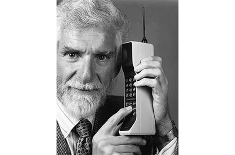 when were cell phones invented held cell phone the app 4 u