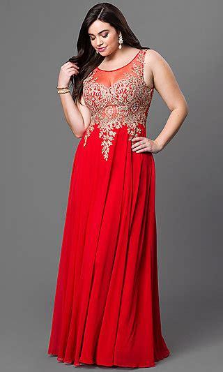 size formal prom dress  illusion