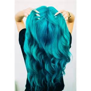 turquoise color hair 25 best ideas about manic panic turquoise on