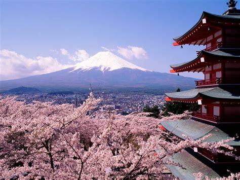 imagenes paisajes japoneses paisajes japoneses cerezos viajando desde casa