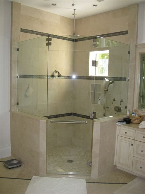 seamless shower door seamless shower doors in bonita springs fl
