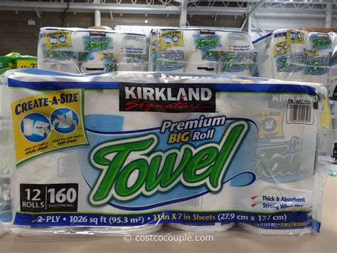 Who Makes Kirkland Paper Towels - kirkland signature paper towels