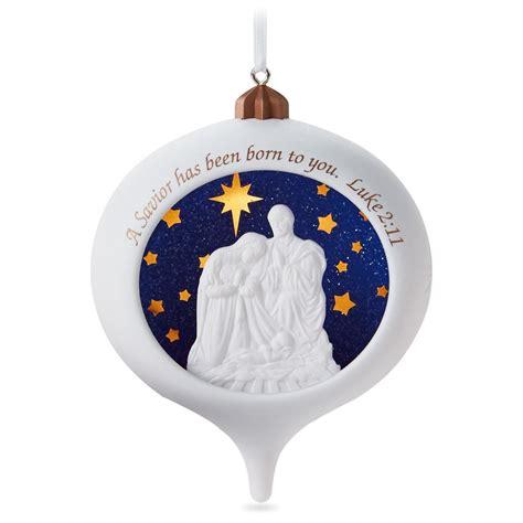 2016 a savior is born hallmark keepsake ornament hooked