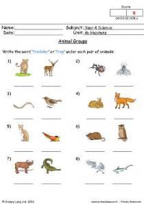animal habitat worksheets abitlikethis