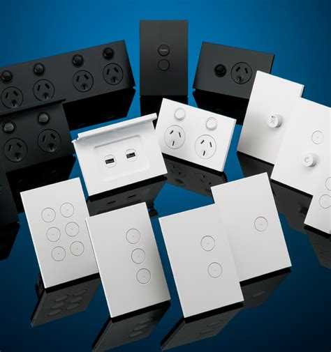clipsal c home automation saturn zen wall switches