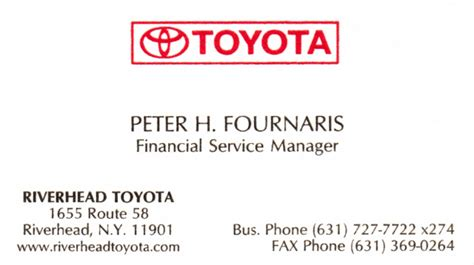 toyota business card template us business card gallery business card template
