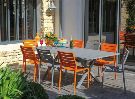 Formidable Solde Salon De Jardin Resine Tressee #6: Ori-table-de-jardin-en-aluminium-couleur-taupe-bridge-6-8-personnes-1518-1024x749.jpg