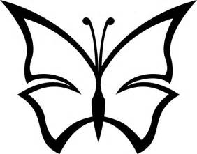 black and white clip art butterfly black and white clip art