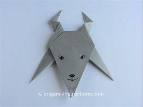Origami Goat - 1000 ideas about origami for beginners on