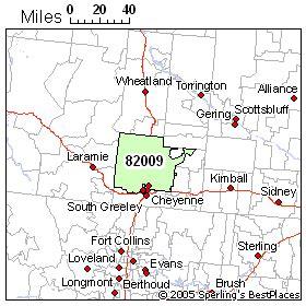 zip code map wyoming best place to live in cheyenne zip 82009 wyoming