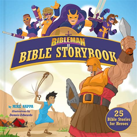 heroes storybook bible books bibleman bible storybook padded 25 bible stories for