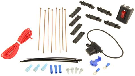 electric fan mounting kit derale electric fan installation kit with switch