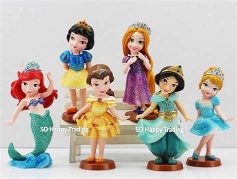 Figure Disney Princess Isi 6 Pcs 149 disney princess q version figurine end 7 31 2018 10 15 pm