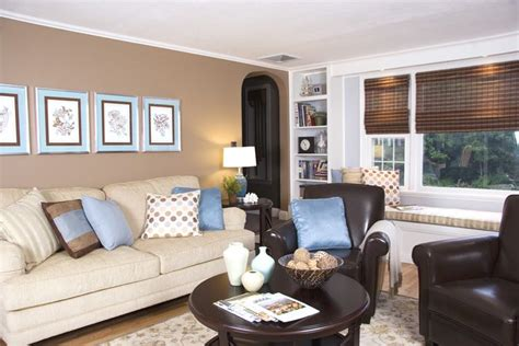 brown and blue living rooms brown and blue living room house decor