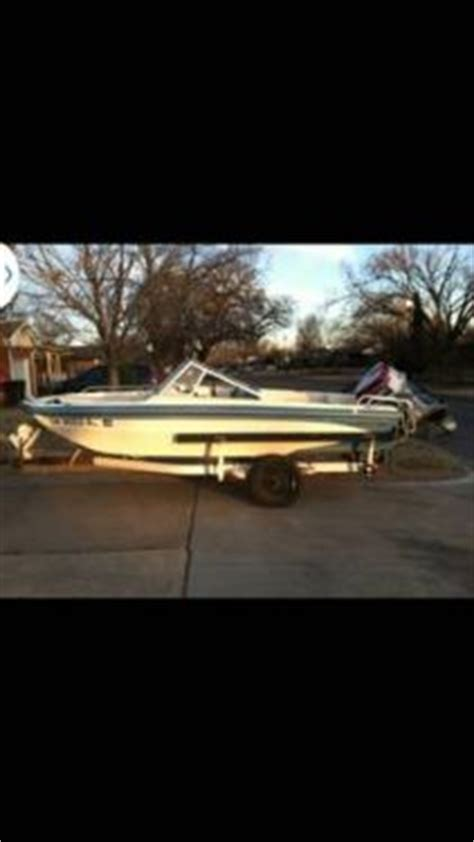 fish and ski boats for sale in oklahoma 1981 16 foot glastron fish and ski power boat for sale in