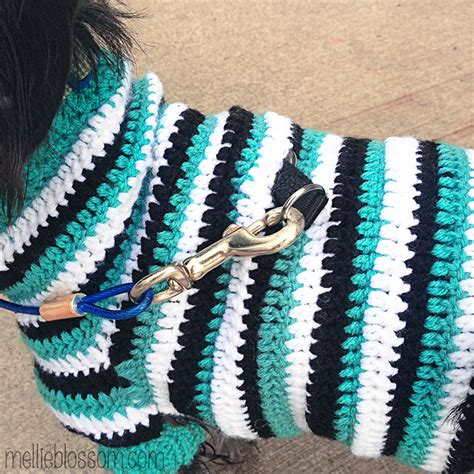 dog jumper pattern crochet crochet dog sweater mellie blossom