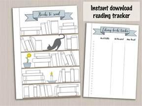 reading journal template bullet journal template reading planner template reading log