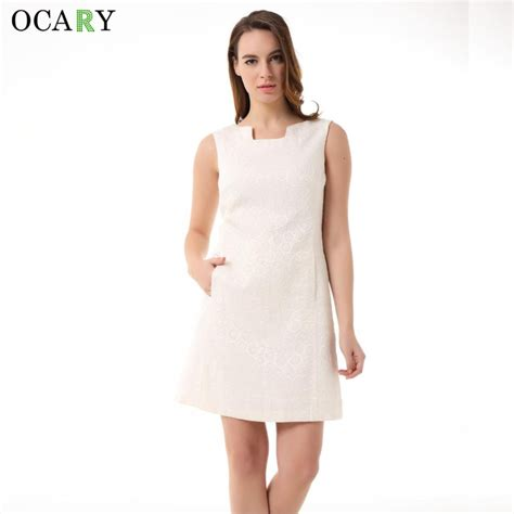 Tank Dress With Pockets by Ocary Brand Quality Office Dress Luxury Casual Tank Dress With Pockets Fashion