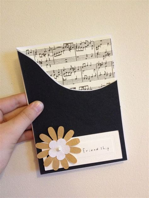 how to make a musical greeting card 151 best images about cards with a theme on