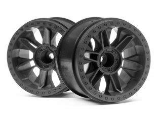 Hpi Racing 101309 Bullet St Wheels 1 10 truck wheels tires hpi racing