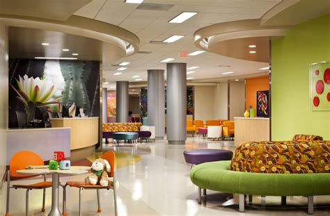 great river center emergency room gallery of children s hospital hks architects 22
