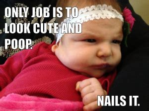 Baby Poop Meme - funny baby picture funnypictures in