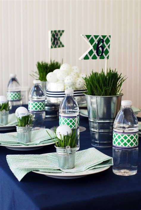 golf themed decorating ideas 25 best ideas about golf centerpieces on golf