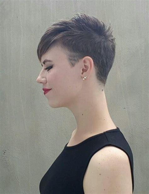 pixie cut back on pinterest shaved nape edgy pixie hair steps shaved pixie hair my style pinterest nape