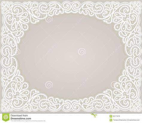 design note cards template template frame design for card stock vector illustration