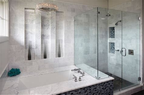 30 marble bathroom tile ideas