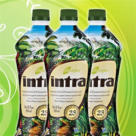 Suplemen Intra intra herbal juice for optimal health vitality