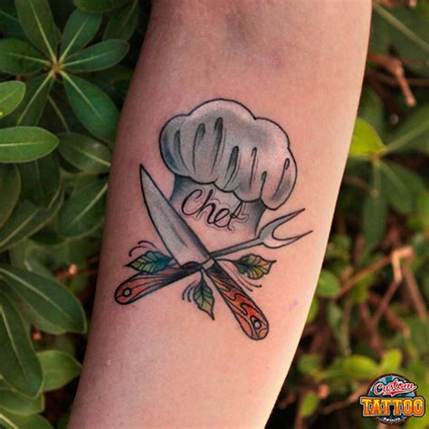 chef hat tattoo 20 amazing chef designs