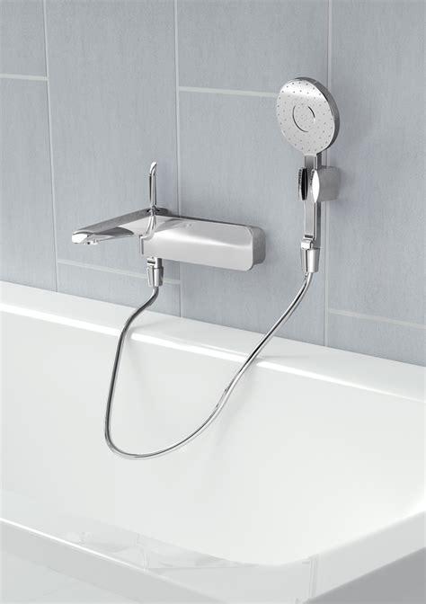 4 bath shower mixer 100 wall mounted thermostatic bath shower mixer