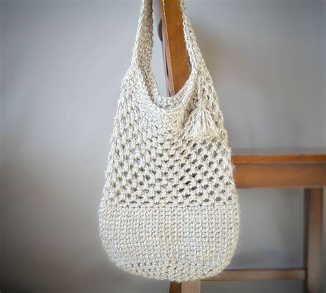 pattern tote bag crochet manhattan market tote crochet pattern