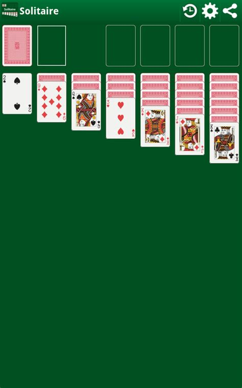 klondike solitaire card game amazoncouk appstore