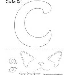 cat face template printable template